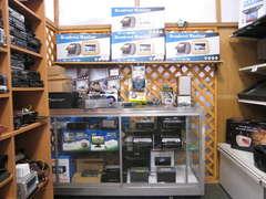 各種DVDコンポや地デジチューナー、中古CD.MDコンポなど常時在庫してます取付も出来ます