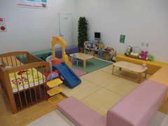 ショールーム内には安心のキッズスペースも完備!!